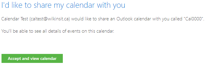 Getting a shared Office 365 Calendar on your Android or iPhone